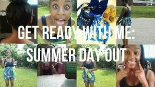 GRWM: Summer Day Out (Makeup, Hair, Outfit) Thumbnail