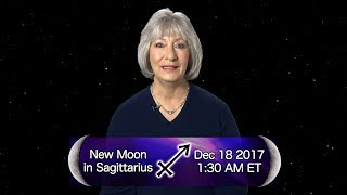 New Moon in Sagittarius 2017