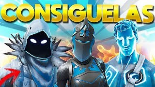 HOW TO GET ICE SKINS 💎 AT FORTNITE BATTLE ROYALE