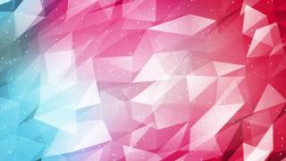 Bright Triangles Background Video Loop