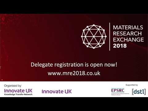 Materials Research Exchange & Investor Showcase 2018 Networking opportunities