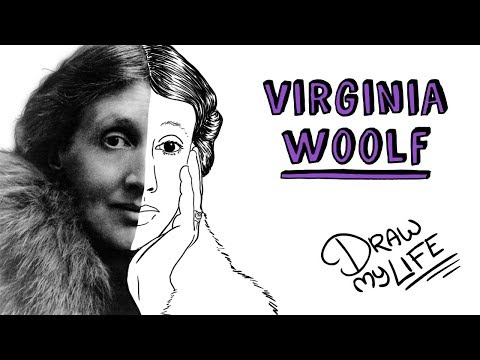 VIRGINIA WOOLF | Draw My Life
