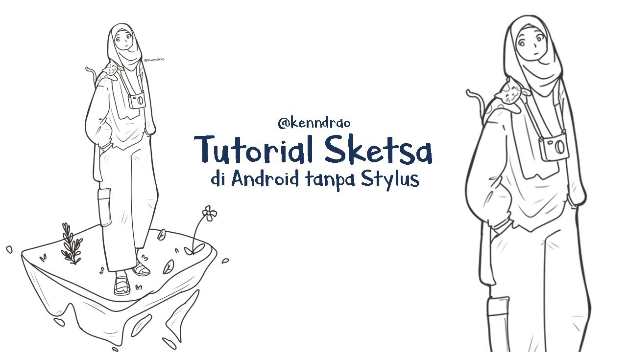 Menggambar Di Android Tanpa Stylus Youtube