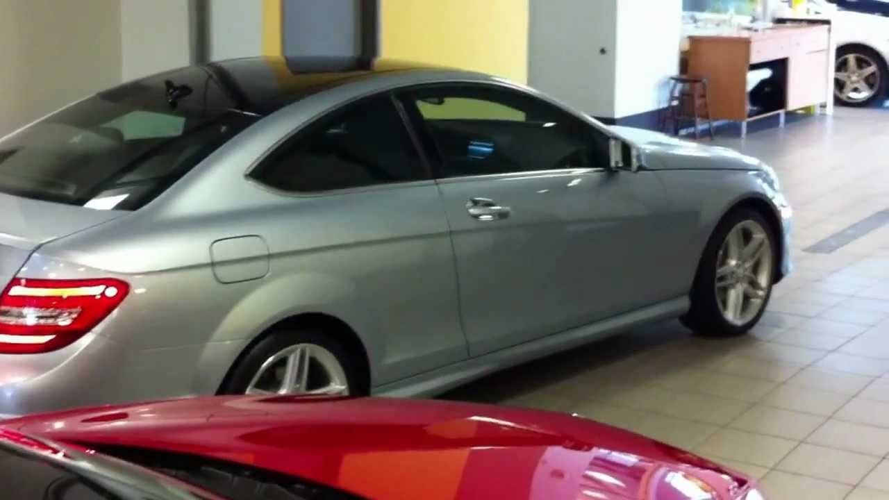 2013 Mercedes C250 Coupe Youtube