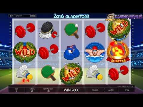2016 Gladiators Slot Machine