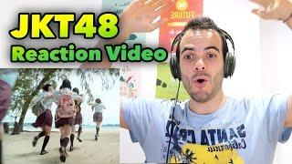 JKT48 REACTION VIDEO - INDONESIA MUSIC YOUTUBER VLOG #96