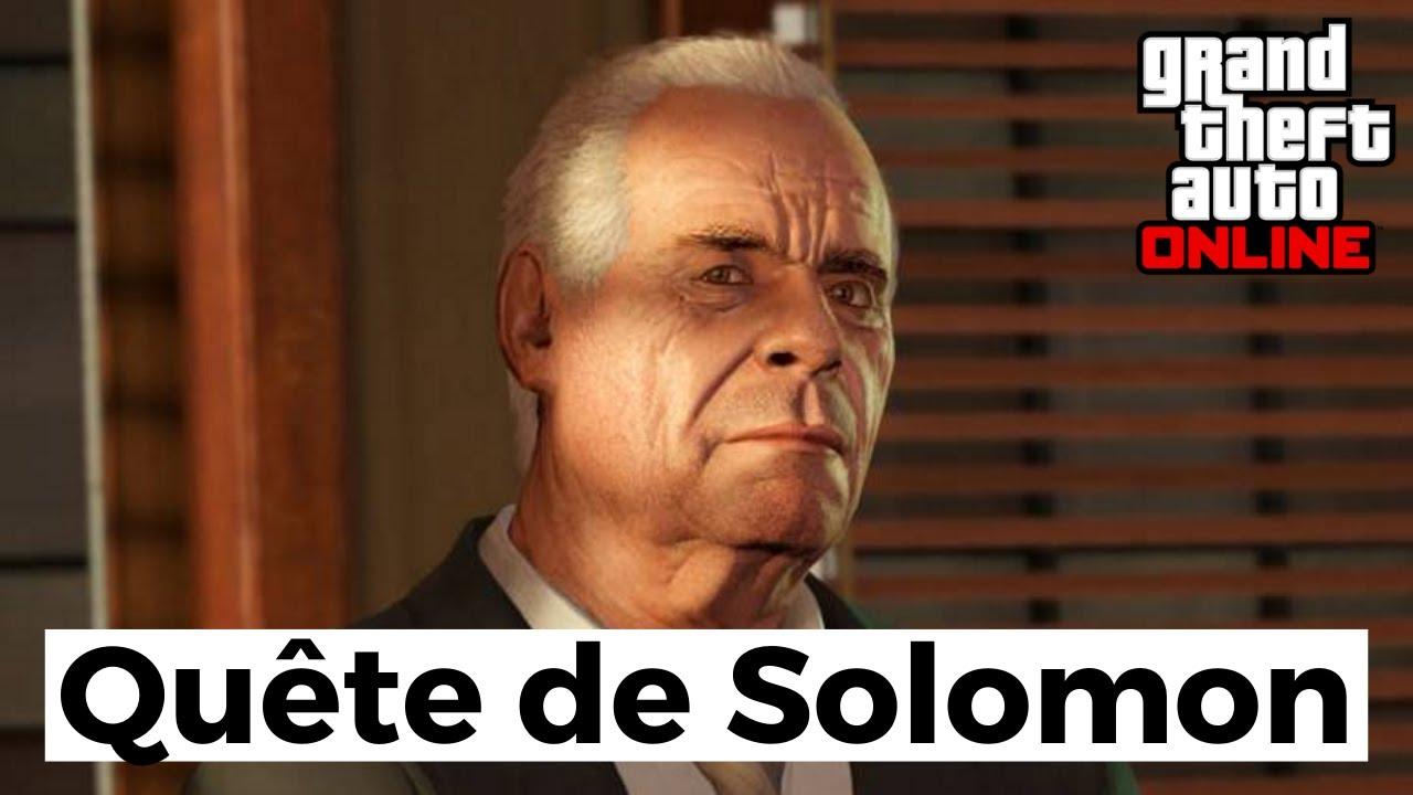 Guide COMPLET pour la quête de SOLOMON sur GTA Online (Costume ALIEN + 150.000$)