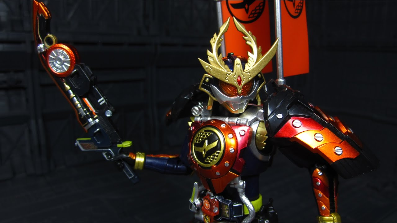 SHF Kamen Rider Gaim Kachidoki Arms - YouTube