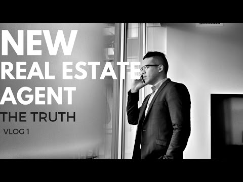 VLOG 1: NEW REAL ESTATE AGENT - A LITTLE TRUTH