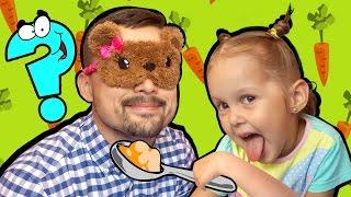 Челлендж Угадай вкус Детское питание пюре Baby Food Вызов Принят