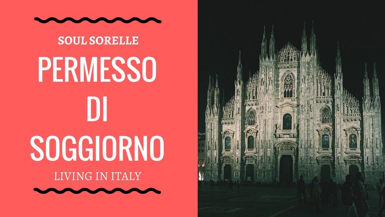 Living in Italy - Permesso di Soggiorno - YouTube
