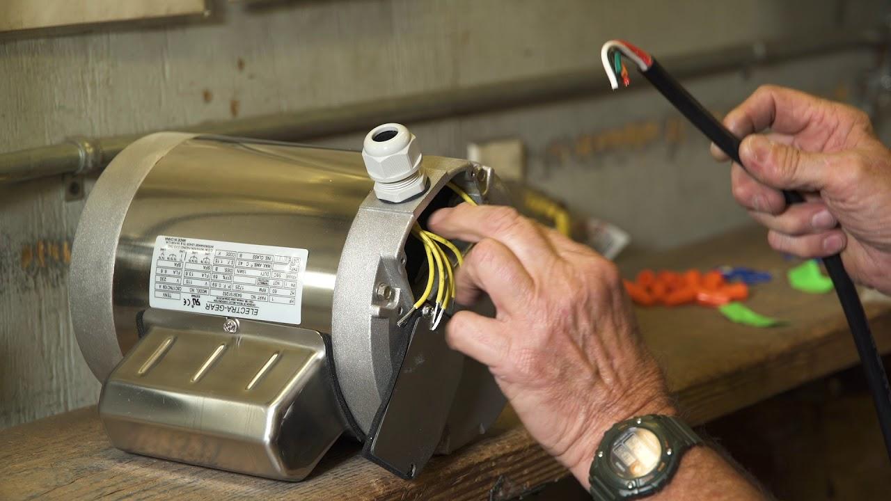 small resolution of leeson electra gear motors c face boat lift motor 110v wiring