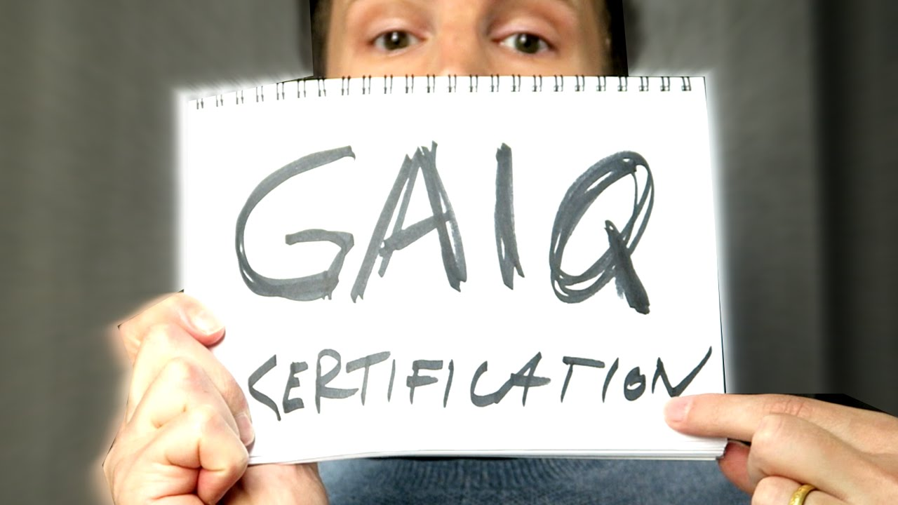 Gaiq Unprepared Expert On Google Analytics Certification Exam
