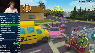 The Simpsons: Hit & Run 100% Speedrun in 3:11:41