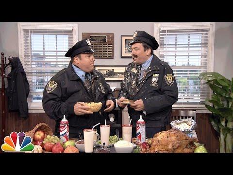 Point Pleasant Police Department with Kevin James Thanksgiving Edition