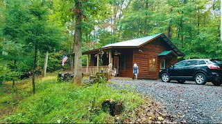Cabin Airbnb In The Great Smoky Mountains Travel Vlog 4/14