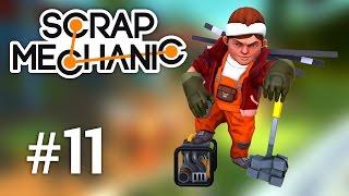 Scrap Mechanic Max mecanic si constructor Episodul 11