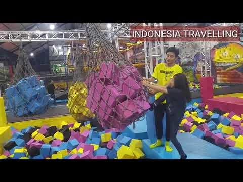 One day adventure at Houbii Adventure Jakarta # Sehari berpetualangan di Houbii Full Version