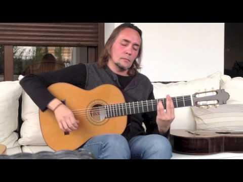 Vicente Amigo, Signature Guitar Trial