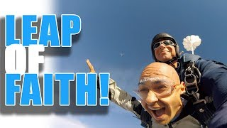Amazing Skydiving Experience Life Lesson - Trust the Process! | How to Focus and Stay Motivated