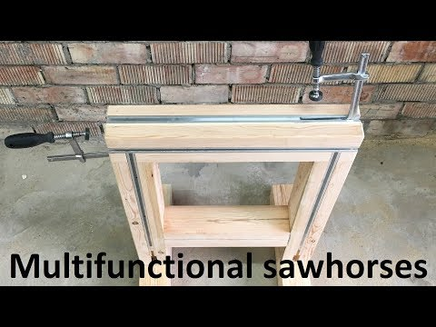 Multifunctional Sawhorses DIY