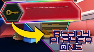 LOCATION OF KEYS REVEALED! (Roblox READY PLAYER ONE Event)