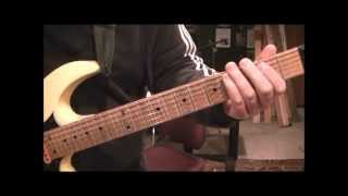 How to play Train Train by Blackfoot on guitar by Mike Gross