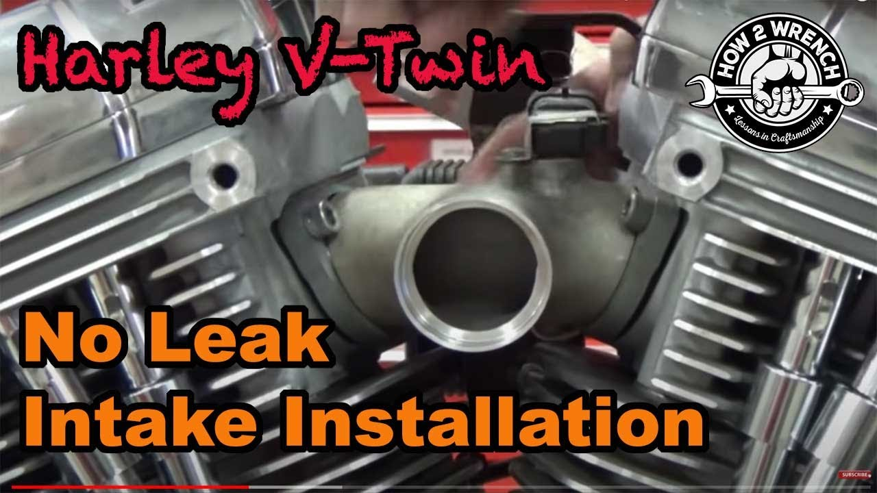Tc Series 22 How To Install A Harley Intake Manifold And Carburetor 96 Engine Diagram As Well Sportster Also Without Causing Leaks