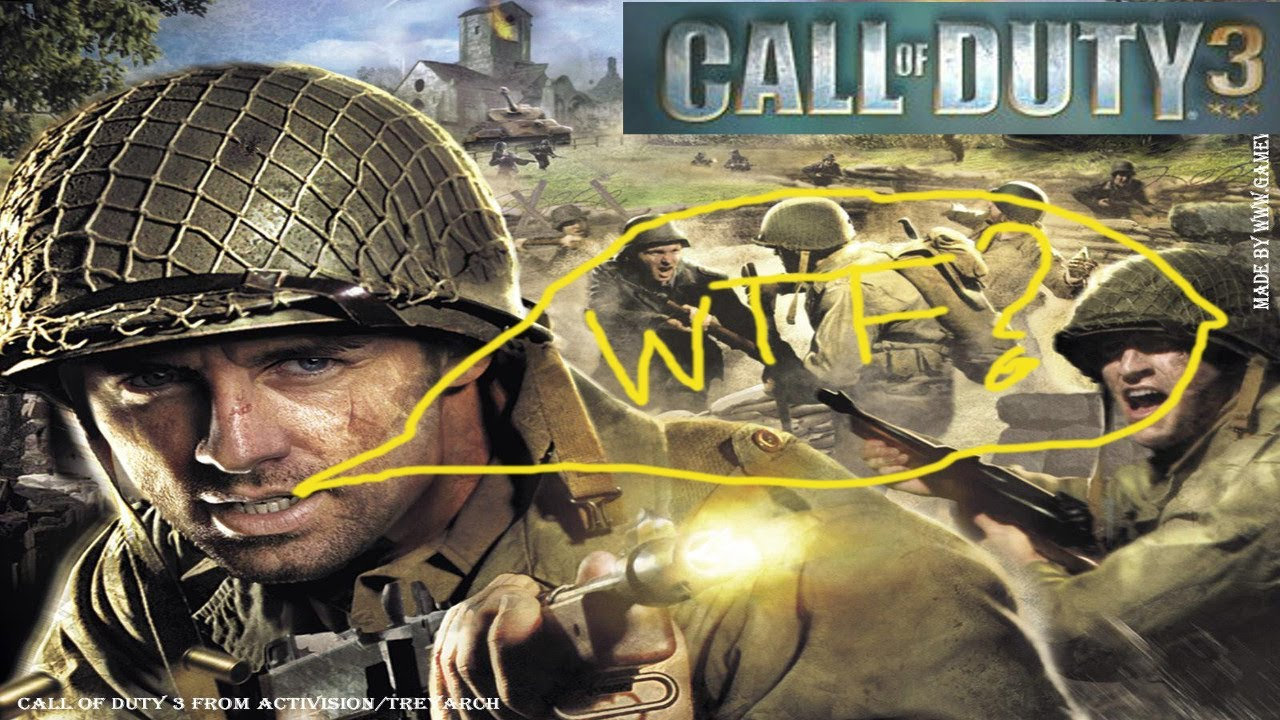 CALL OF DUTY 3, WTF HAPPENED. EP.2 PT.1