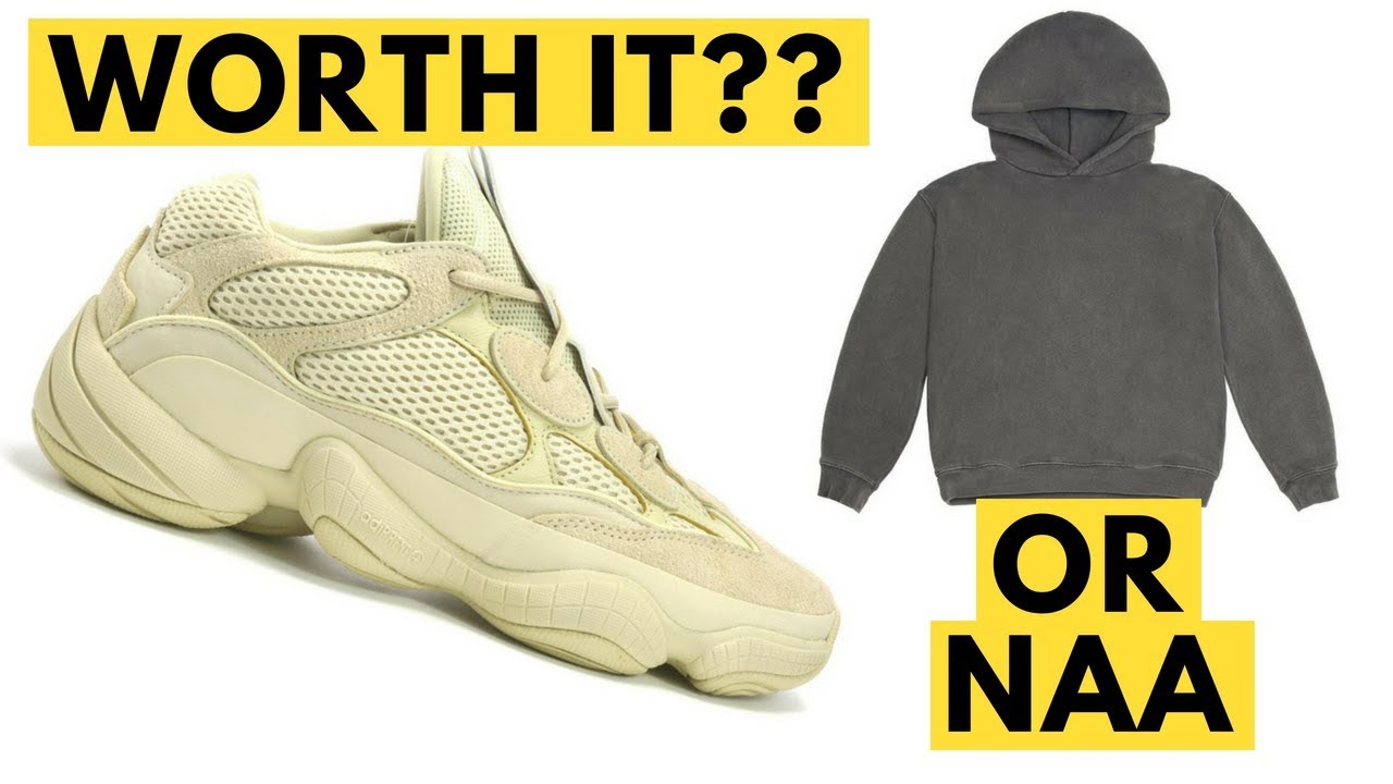 big sale cc31b c6310 Yeezy 500 Super Yellow Moon Yellow Desert Rat Bundle Review