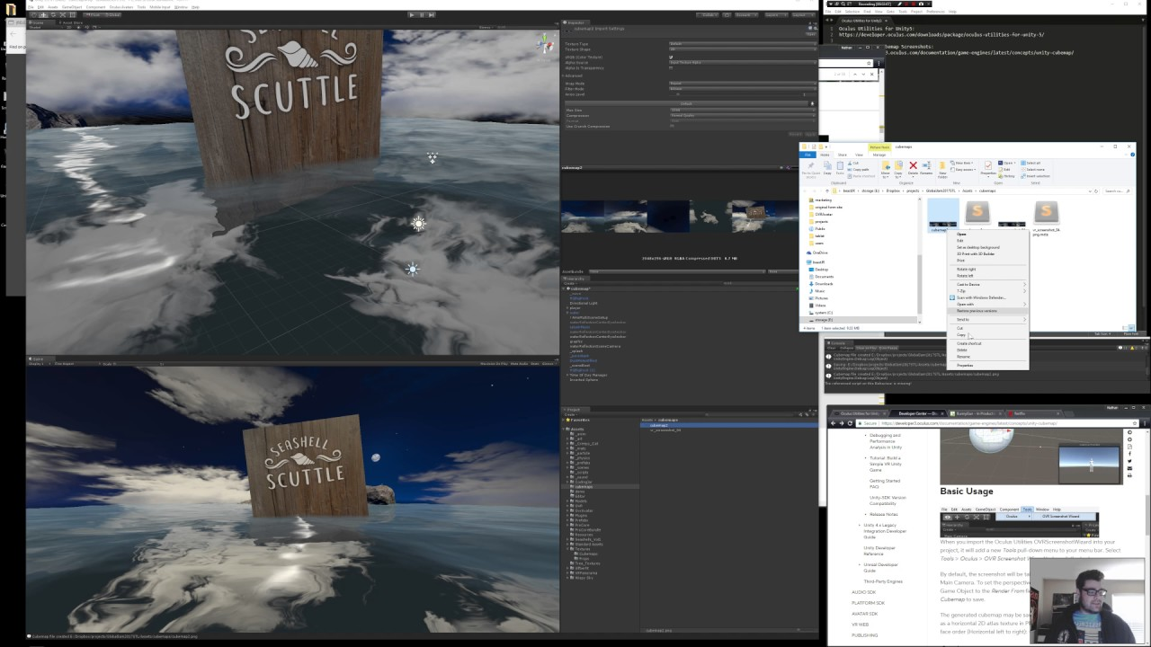 How to create a cubemap for Oculus Store submissions