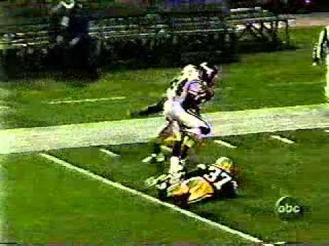 Randy Moss 1st NFL MNF Touchdown (Vikings, 1998)
