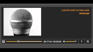 Prof. Gerald Steinberg, Israel Radio Reshet Moreshet, August 6, 2014 (Hebrew)