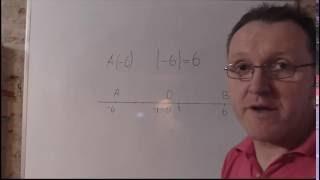 Модуль числа Математика 6 класс