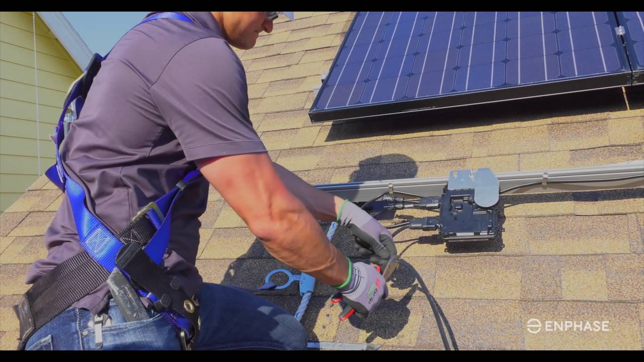 Iq 6  Microinverter Installation - Enphase Energy