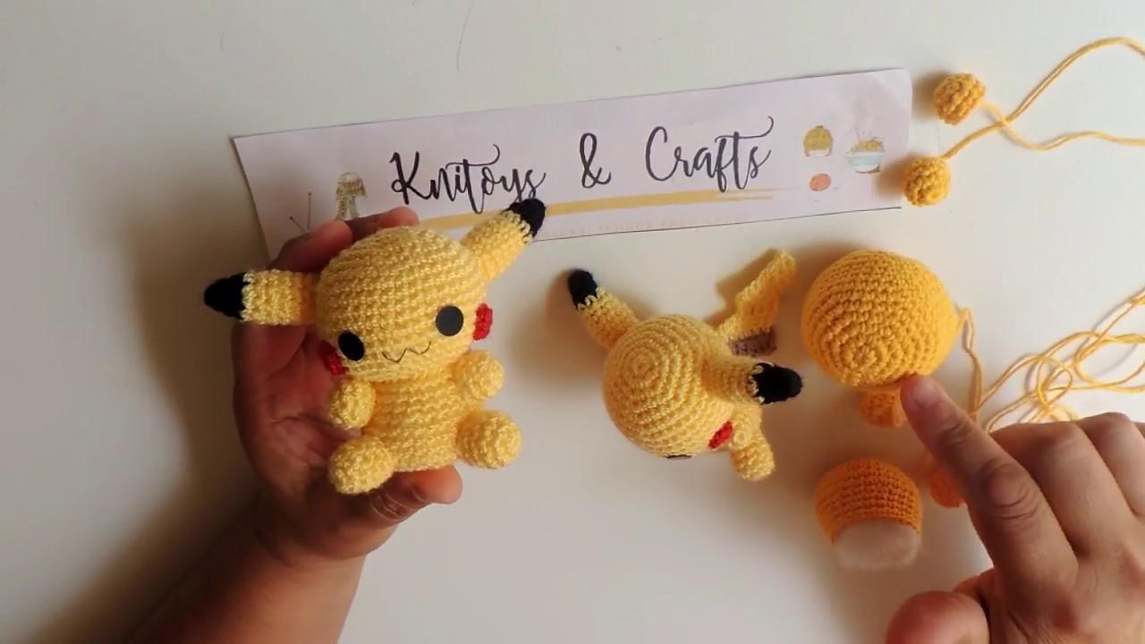 Pikachu Amigurumi crochet pattern (Free Amigurumi Patterns ... | 720x1280