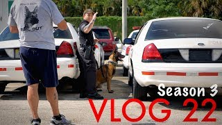 Miami Police VLOG: Last Day of K9 Certification Course (USPCA): Narcotic & Explosives Search