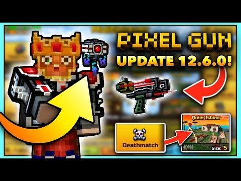 HUGE NEW UPDATE! PERSONAL DRONE?! | Pixel Gun 3D - New Update 12.6.0 [Review]