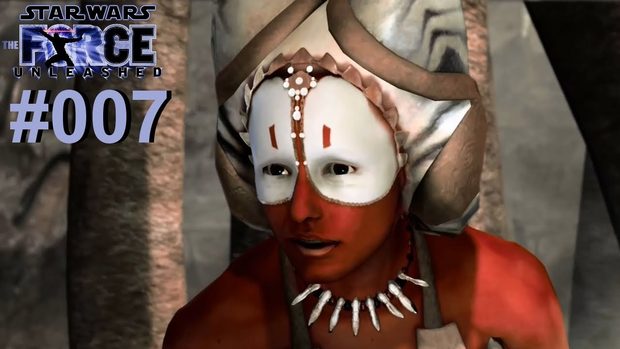 let s play star wars the force unleashed 007 shaak ti vs
