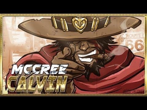 AimbotCalvin Best Mccree Moments #6 - Overwatch Montage [OV]
