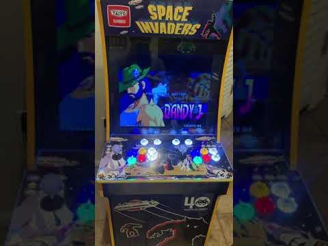 Space Invaders Arcade1Up Mod RetroPie Setup: Part 3 from Otaku United A.S.
