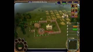 Warrior Kings Battles - Skirmish - Player Vs 5 ELITE Allied