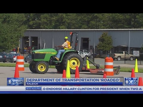 NC DOT workers compete in truck 'road-eo'