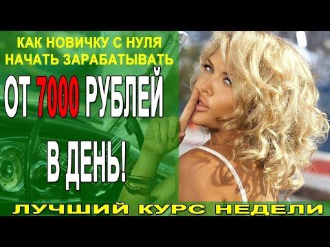 Ласточка, или как новичку с нуля начать зарабатывать от 7000 рублей в день