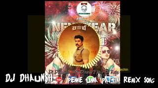🎧Penne unna patha Remix Song//Samy 2🎧//DJ DHAUNSH//New Year Album Song