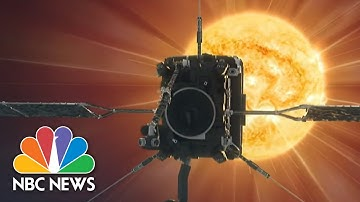 Closest Images Of The Sun Ever Taken Released By NASA, European Space Agency | NBC News NOW