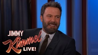 Repeat youtube video Ben Affleck on New Justice League Movie