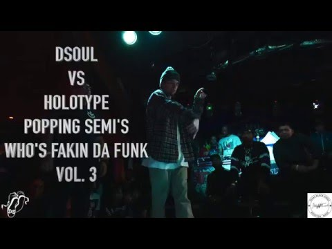 DSOUL vs HOLOTYPE | Popping Semi | Who