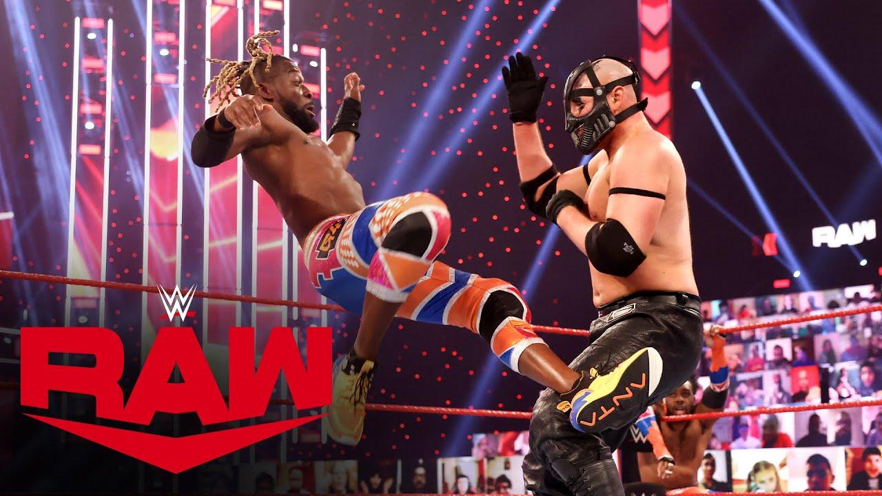 The New Day vs. MACE & T-BAR: Raw, Feb. 22, 2021