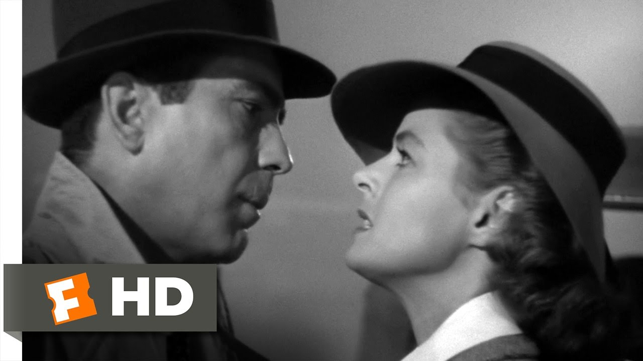 Heres Looking At You Kid Casablanca 56 Movie Clip 1942 Hd